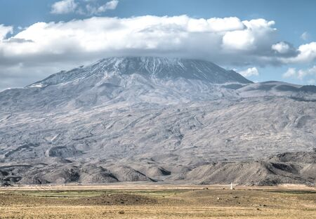 apostolic: Agri, Turkey - September 29, 2013: Greater Mount Ararat (Agri Dagi)