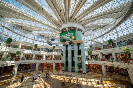 Istanbul, Turkey, TURKEY - July 16, 2015: Istinye Park shopping mall on November 4, 2010 in Istanbul, Turkey. Istinye Park has a gross area of 242,000 m2.