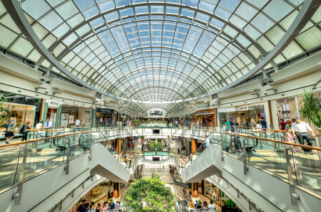 16: Istanbul, Turkey - July 16, 2015: Istinye Park shopping mall in Istanbul, Turkey