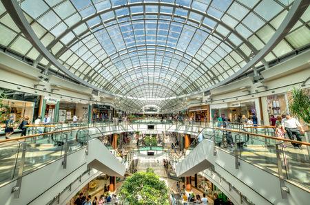 Istanbul, Turkey - July 16, 2015: Istinye Park shopping mall in Istanbul, Turkey