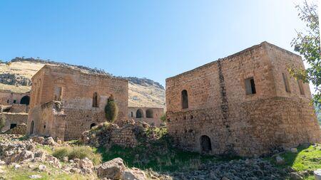 Abandoned Syriac village of Killit Dereici, near Savur town, in the southeastern Turkey