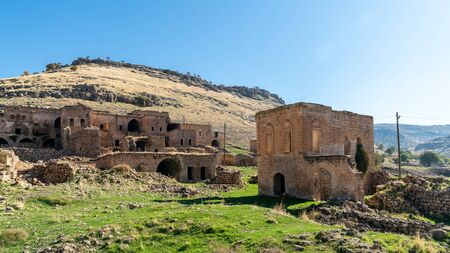 Abandoned Syriac village of Killit Dereici, near Savur town, in the southeastern Turkey
