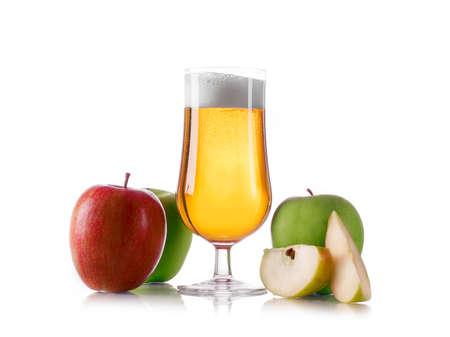 Apple cider ale Imagens