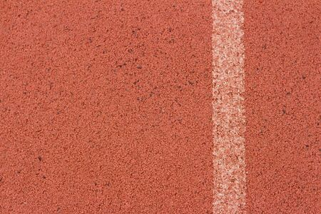 racetrack: A racetrack red at the National Stadium.