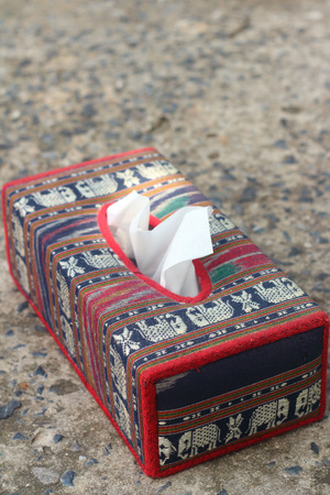 Tissue Box Elephant Is The Symbol Of Thailand Stock Photo Picture