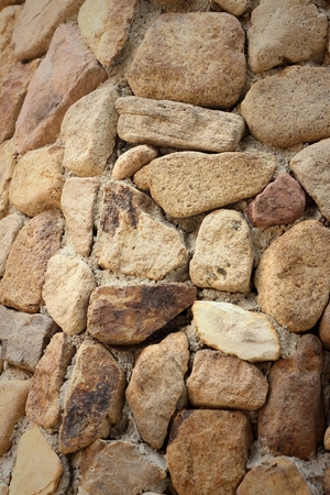 aggregates: Background of brown stone at the park