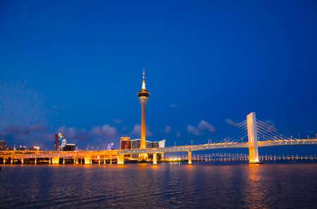 macao: Macao Lotus Bridge Editorial