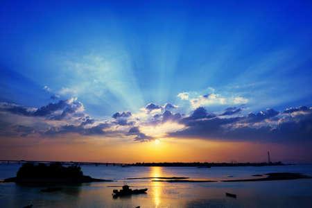 저녁에 첸탕 강