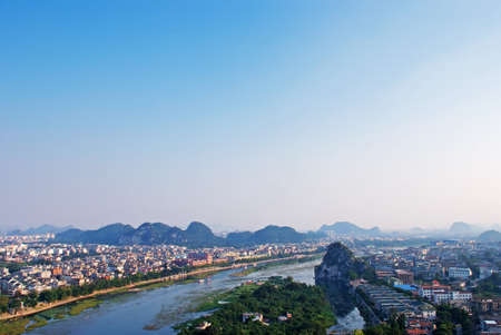 guilin: Overlooking Guilin
