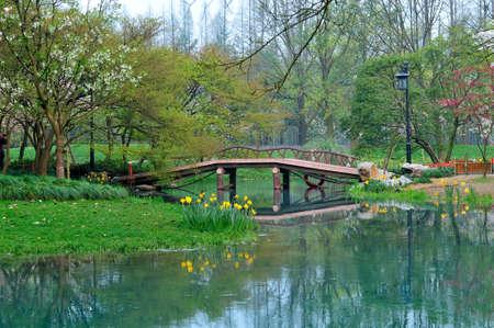 beck: Prince of Hangzhou Bay Park Stock Photo