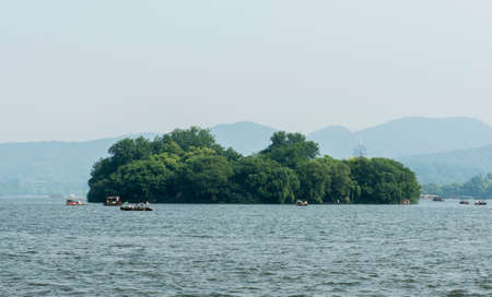 submerged: Ruan Gong Islet Submerged in Greenery