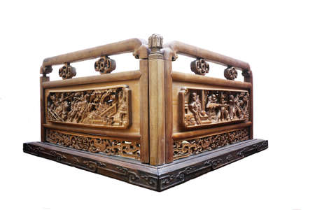 wood carving: Wood carving of the Qing dynasty history