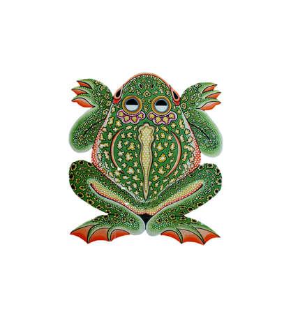 animal kite: Toad kite Stock Photo