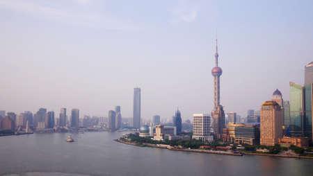 huangpu: Shanghai Huangpu River scenery