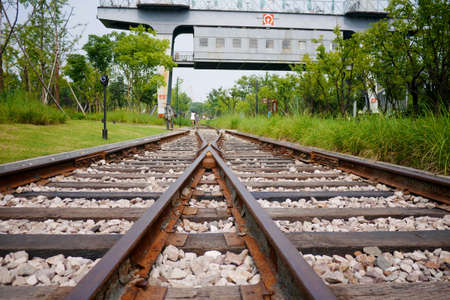 intersect: Cross the railroad tracks