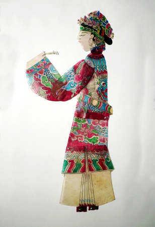 folk heritage: Haining shadow play figures