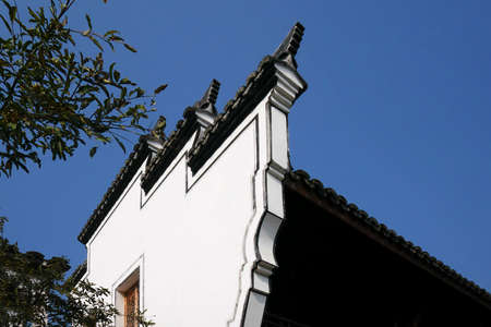 architectural style: Close up to an ancient architectural style wall