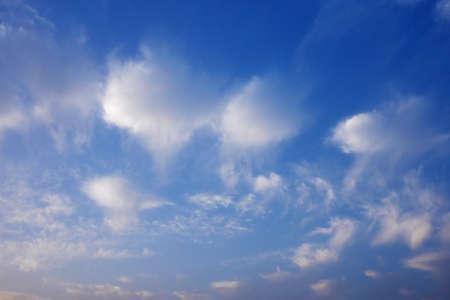 Blue sky and white clouds Фото со стока - 49097132
