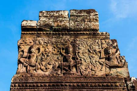 bayon: Cambodia, Bayon relief