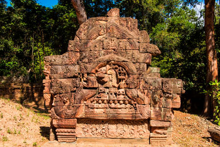 general cultural heritage: Cambodian General d  arsonval Temple reliefs