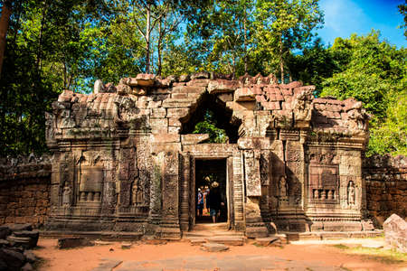 general cultural heritage: Cambodian General arsonval Temple