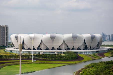 deportes olimpicos: Estadio del Centro de Deportes Olímpicos Hangzhou Editorial