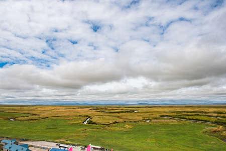 inner mongolia: Landscape view of Inner Mongolia grassland