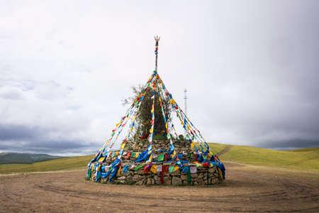 Ovoo in Inner Mongolia