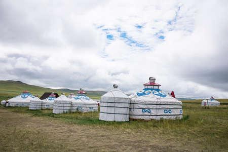 mongolian: Mongolian yurts