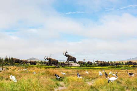 inner mongolia: Inner Mongolia mammoth Park