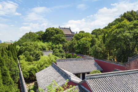 Aerial photography of Shaoxing Yu Temple