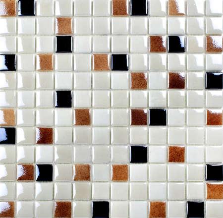 colourful mosaic texture photo