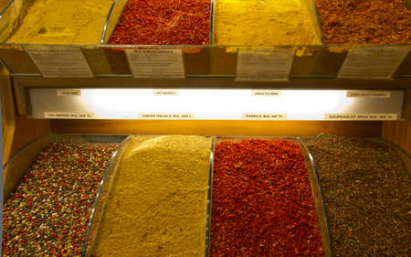 spices at grand bazaar in istanbul multi colored