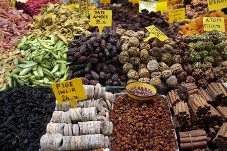 deserts, snacks at grand bazaar in istanbul