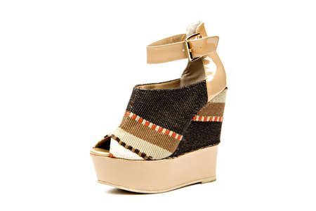 platform heel, women shoe