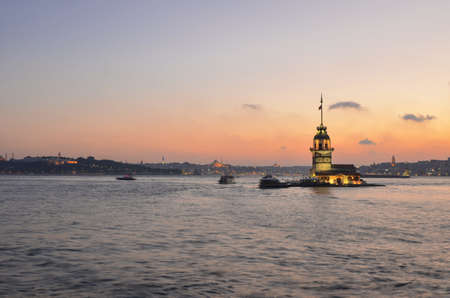 maiden s tower, istanbul Stock Photo