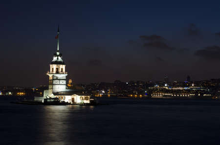 maiden s tower, istanbul Editorial