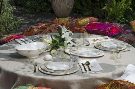 ottoman style ramadan table