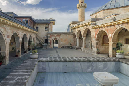 Courtyard of Haji Bektash Veli Tomb