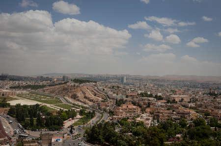 mesopotamian: Panoramic view of Urfa city Stock Photo