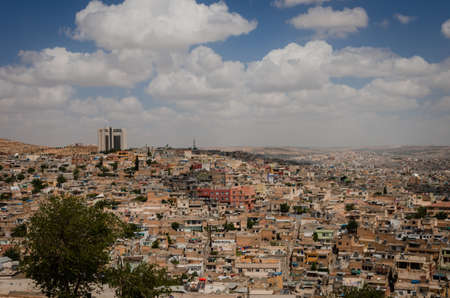 pyre: Panoramic view of Urfa city Stock Photo