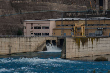 hydroelectric: Hydroelectric power dam