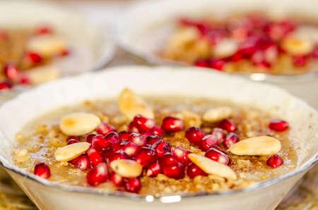 Turkish Ashura - Noahs pudding.