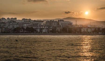 Atakum scene, the city of Samsun, Turkey