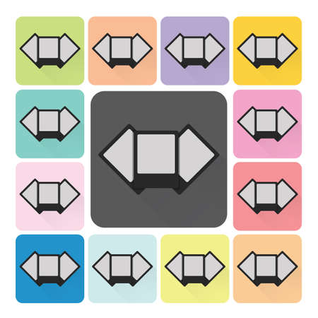 pictures Icon color set vector illustration. Vector