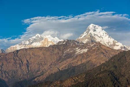 Himalaya mountains, Nepal. Imagens