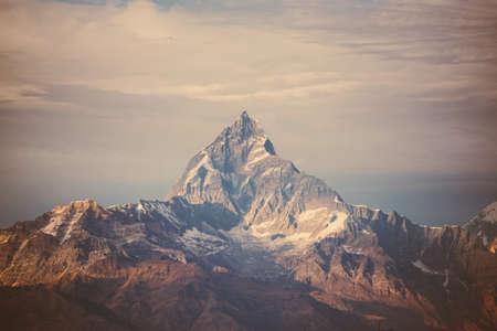 táj: szűrni Himalája hegység. Stock fotó