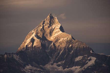 himalaya: filter Himalaya mountains nepal. Stock Photo