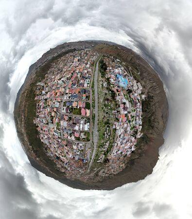 The Zone where I live in La Paz Bolivia