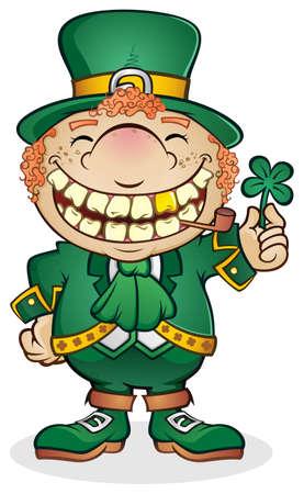 leprechaun: Leprechaun Cartoon Character